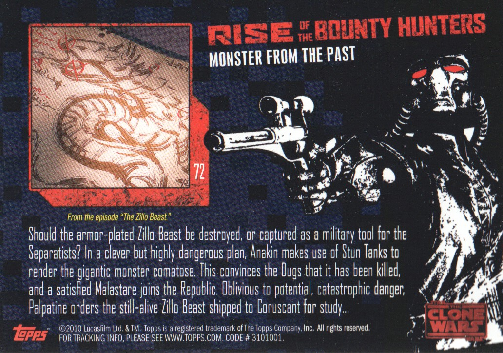 2010-Star-Wars-The-Clone-Wars-Rise-of-the-Bounty-Hunters-Cards-Pick-From-List miniature 143