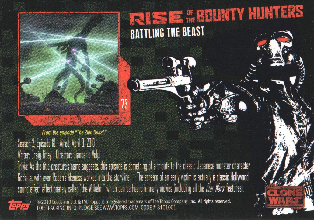 2010-Star-Wars-The-Clone-Wars-Rise-of-the-Bounty-Hunters-Cards-Pick-From-List miniature 145