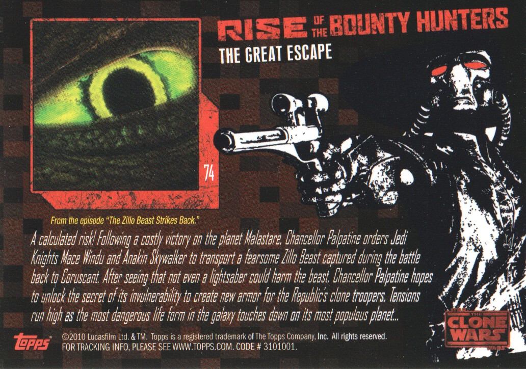 2010-Star-Wars-The-Clone-Wars-Rise-of-the-Bounty-Hunters-Cards-Pick-From-List miniature 147