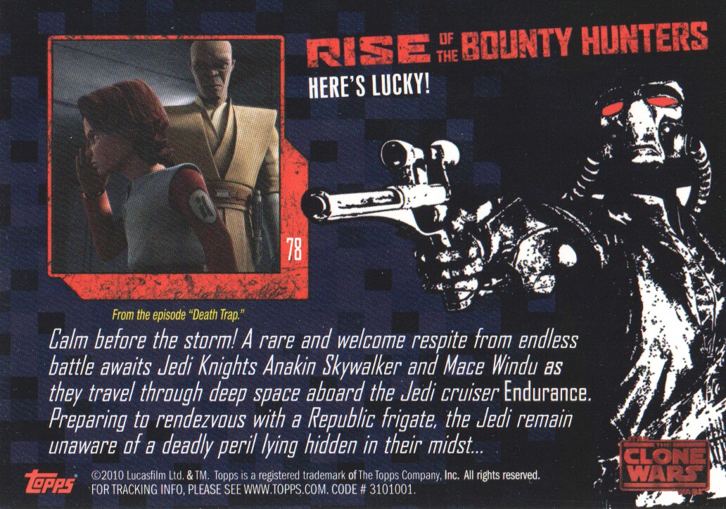 2010-Star-Wars-The-Clone-Wars-Rise-of-the-Bounty-Hunters-Cards-Pick-From-List miniature 155