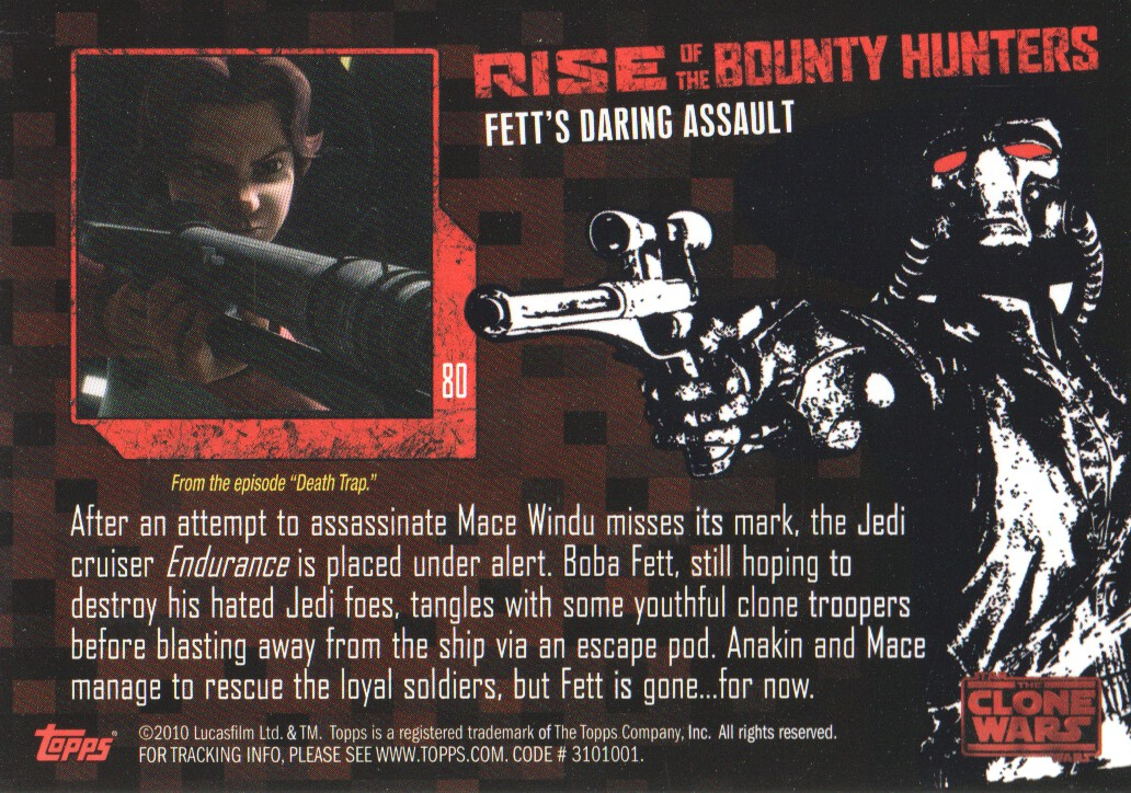 2010-Star-Wars-The-Clone-Wars-Rise-of-the-Bounty-Hunters-Cards-Pick-From-List miniature 159