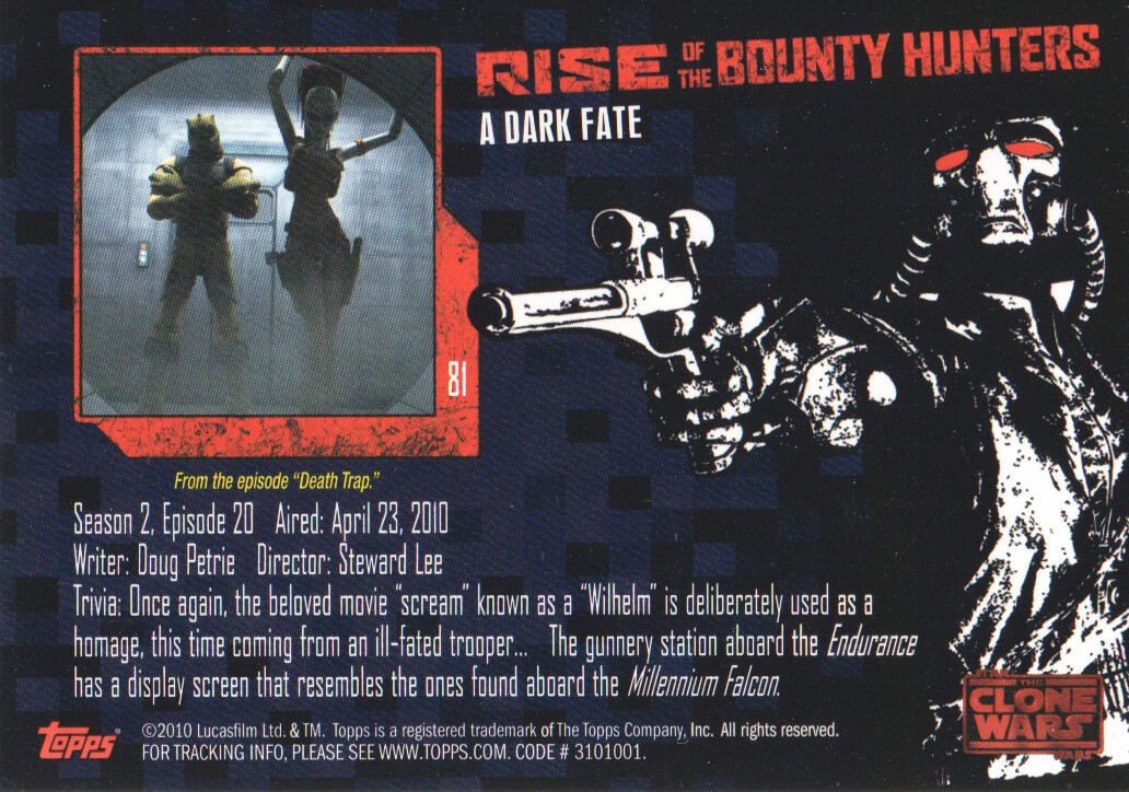 2010-Star-Wars-The-Clone-Wars-Rise-of-the-Bounty-Hunters-Cards-Pick-From-List miniature 161