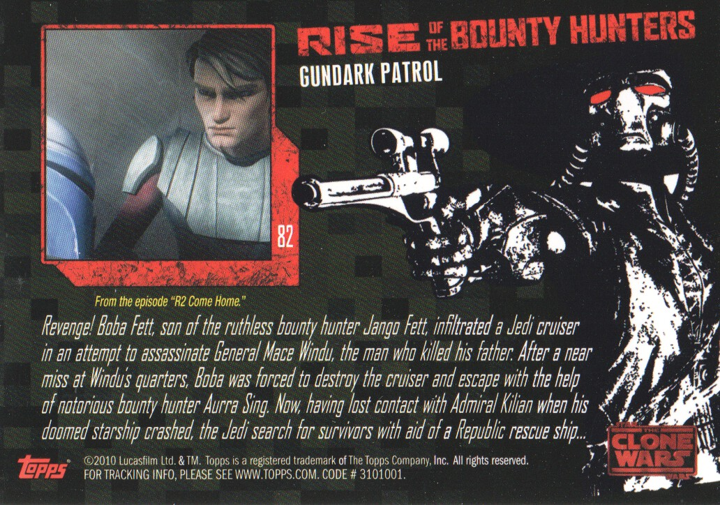 2010-Star-Wars-The-Clone-Wars-Rise-of-the-Bounty-Hunters-Cards-Pick-From-List miniature 163