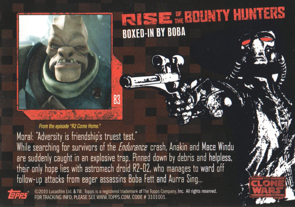 2010-Star-Wars-The-Clone-Wars-Rise-of-the-Bounty-Hunters-Cards-Pick-From-List miniature 165