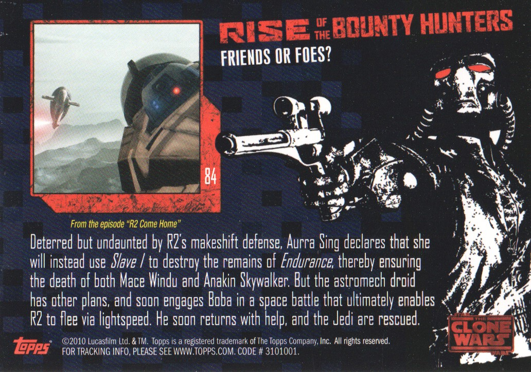 2010-Star-Wars-The-Clone-Wars-Rise-of-the-Bounty-Hunters-Cards-Pick-From-List miniature 167