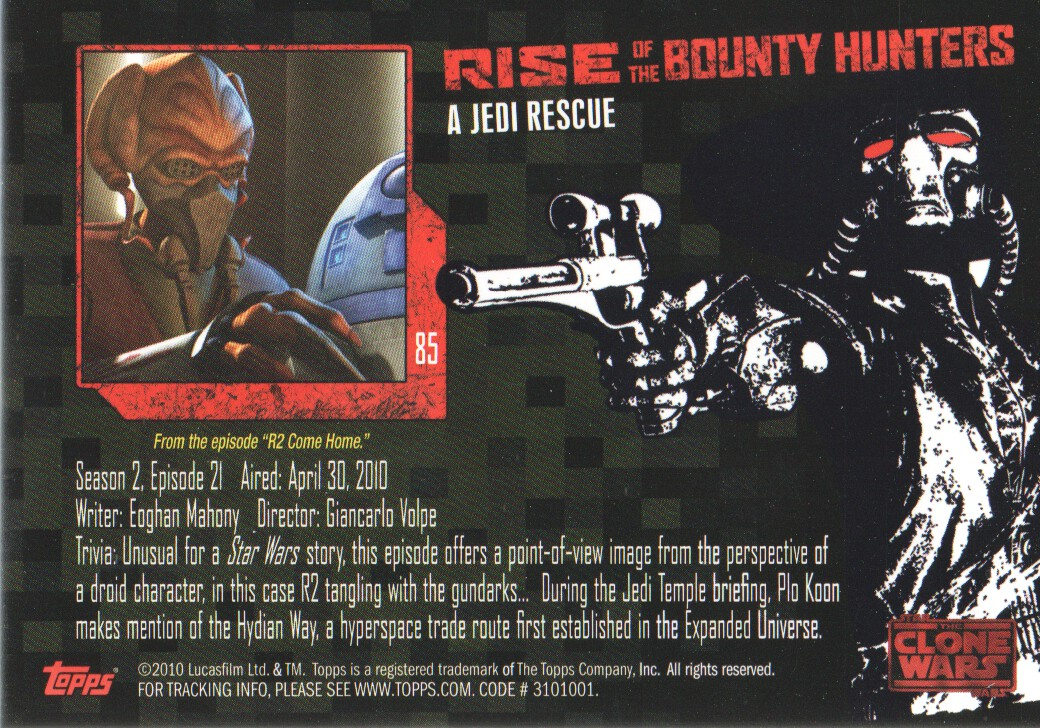 2010-Star-Wars-The-Clone-Wars-Rise-of-the-Bounty-Hunters-Cards-Pick-From-List miniature 169