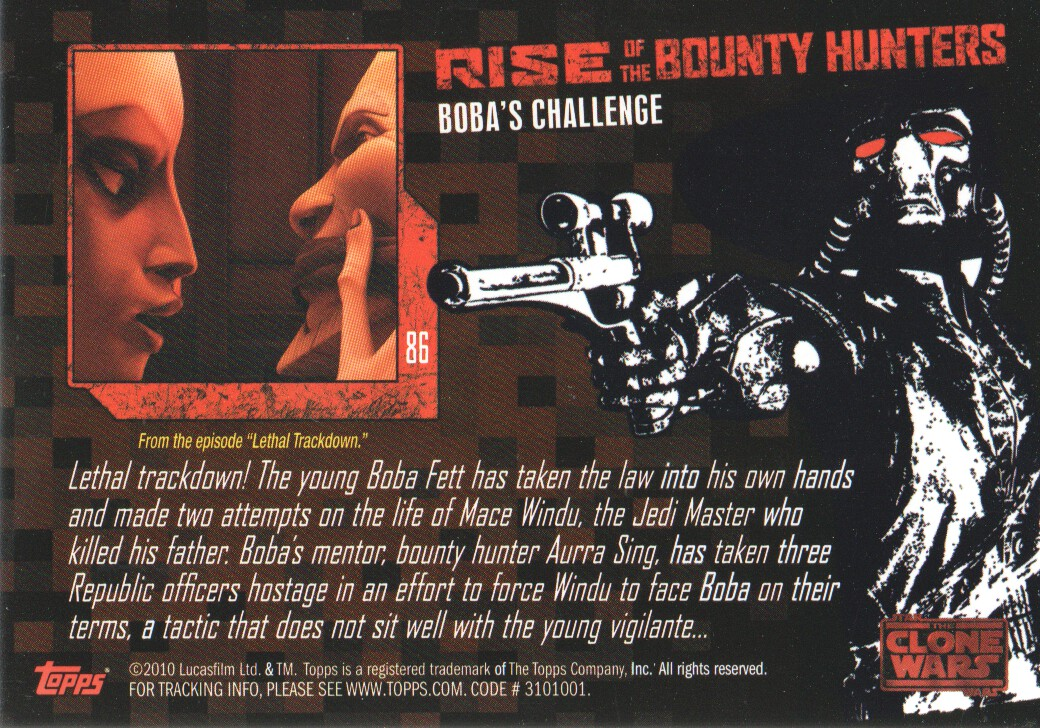 2010-Star-Wars-The-Clone-Wars-Rise-of-the-Bounty-Hunters-Cards-Pick-From-List miniature 171