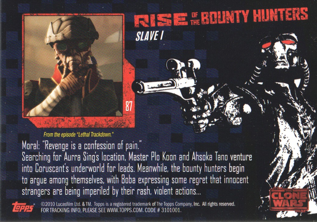 2010-Star-Wars-The-Clone-Wars-Rise-of-the-Bounty-Hunters-Cards-Pick-From-List miniature 173