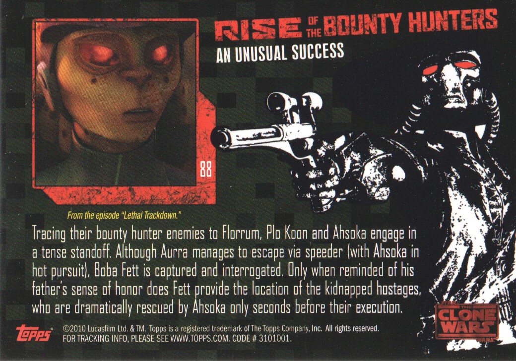 2010-Star-Wars-The-Clone-Wars-Rise-of-the-Bounty-Hunters-Cards-Pick-From-List miniature 175