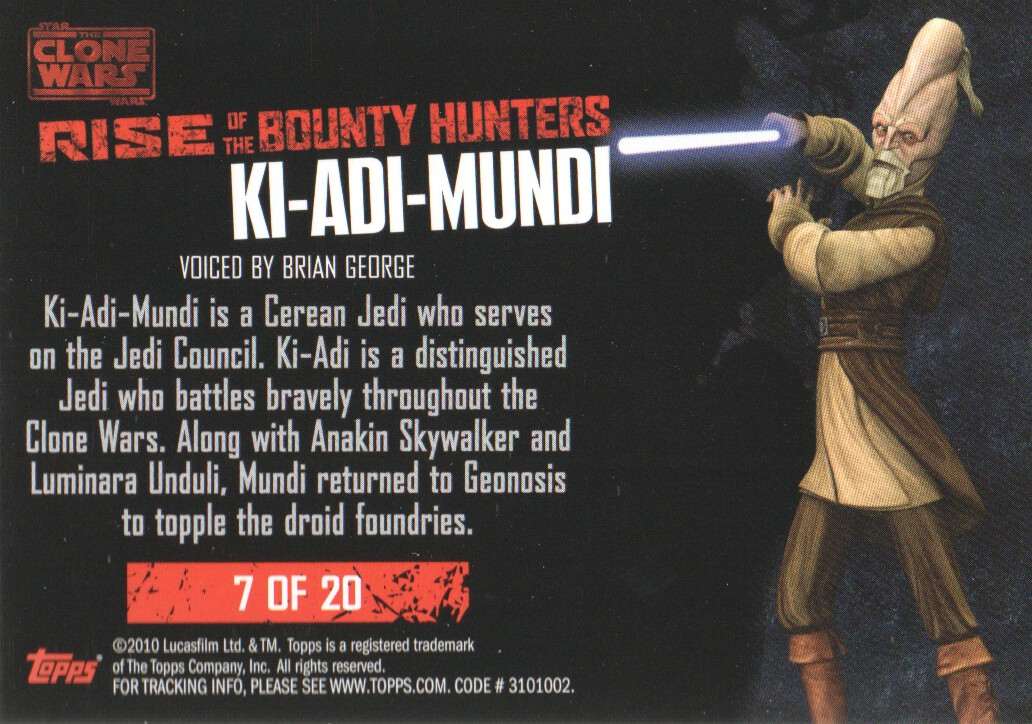 2010-Star-Wars-The-Clone-Wars-Rise-of-the-Bounty-Hunters-Cards-Pick-From-List miniature 181