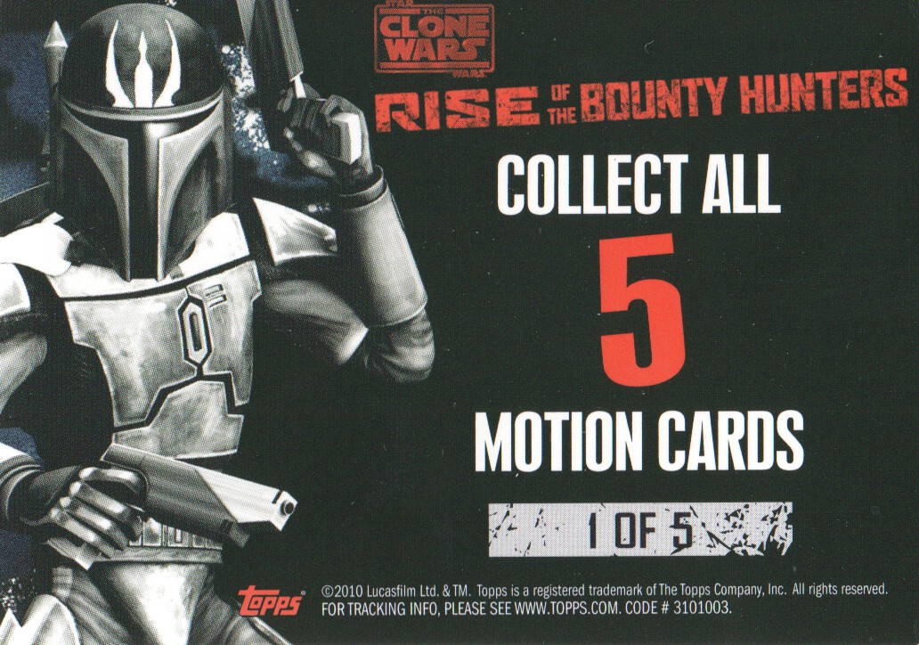 2010-Star-Wars-The-Clone-Wars-Rise-of-the-Bounty-Hunters-Cards-Pick-From-List miniature 185