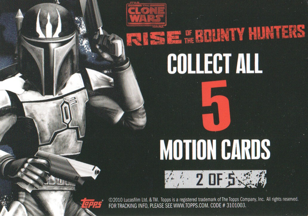 2010-Star-Wars-The-Clone-Wars-Rise-of-the-Bounty-Hunters-Cards-Pick-From-List miniature 187