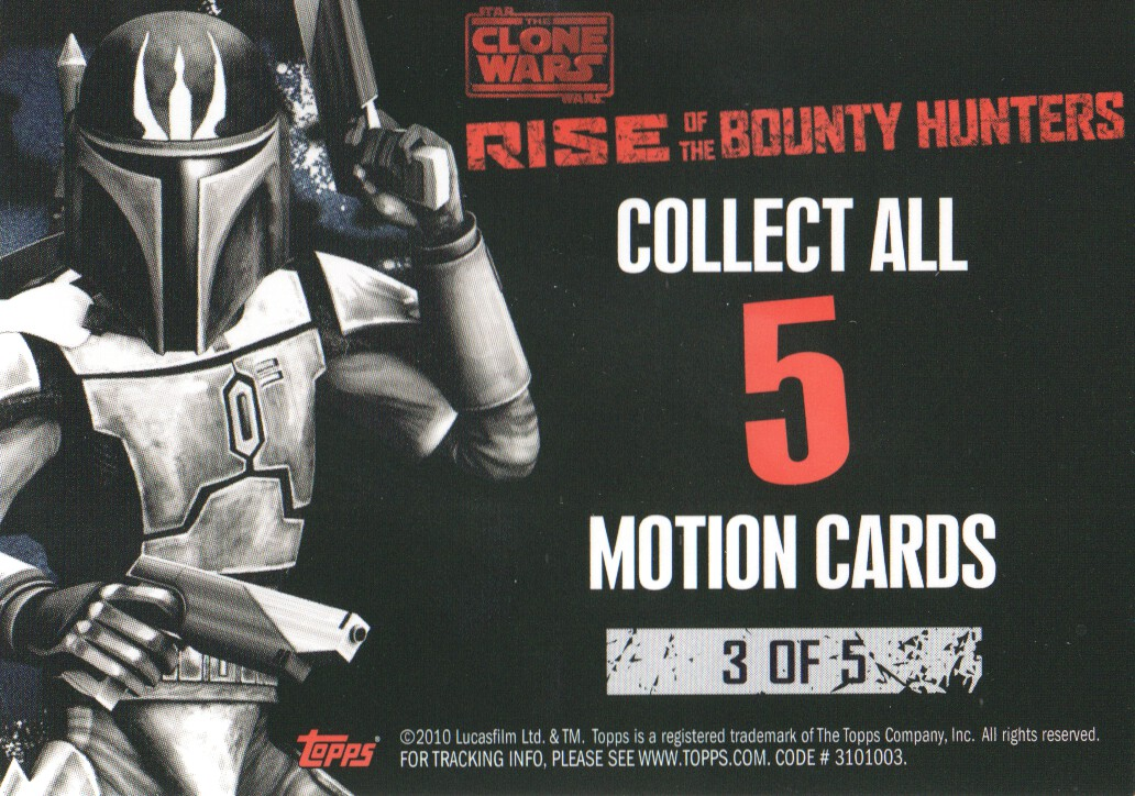 2010-Star-Wars-The-Clone-Wars-Rise-of-the-Bounty-Hunters-Cards-Pick-From-List miniature 189