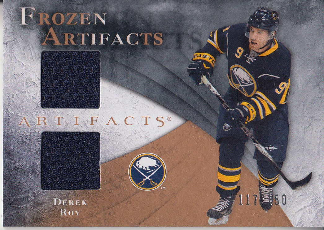 2010-11 Artifacts Frozen Artifacts #FADR Derek Roy