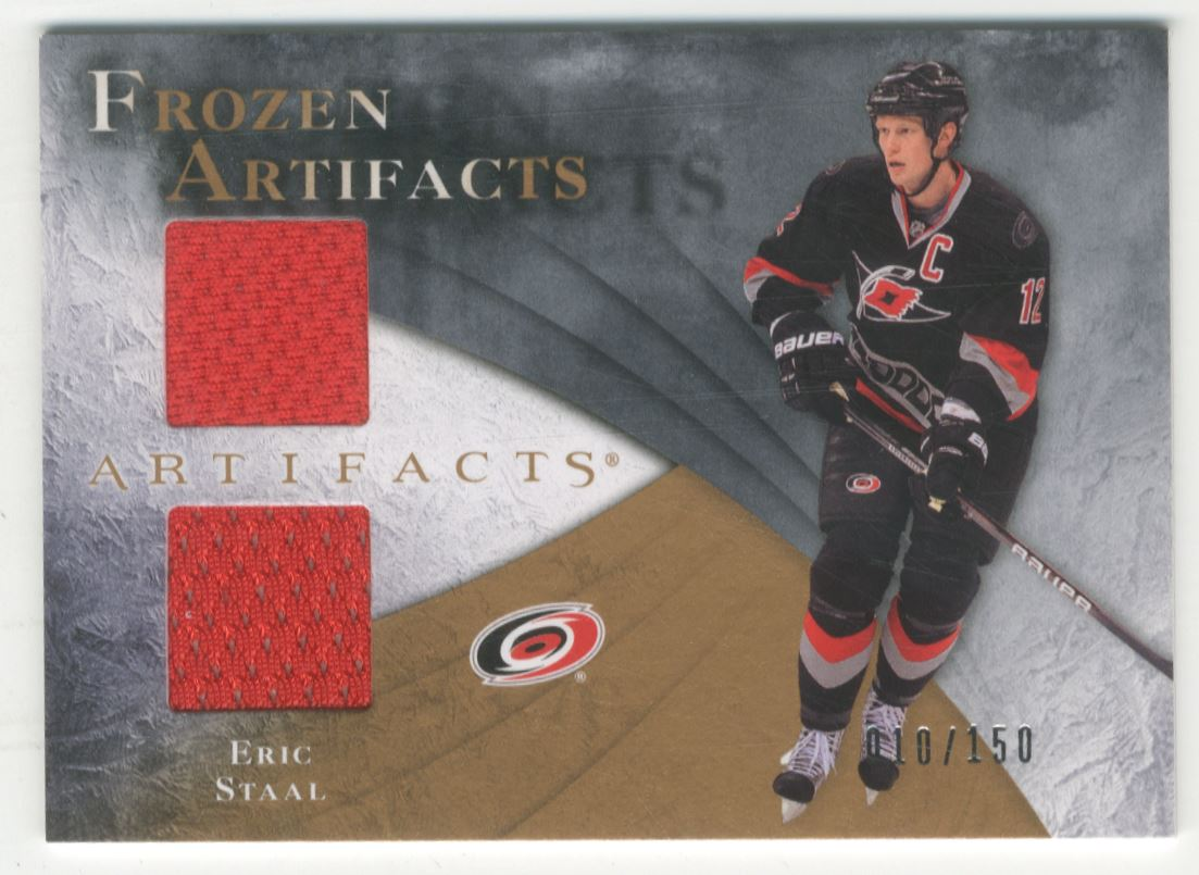 2010-11 Artifacts Frozen Artifacts #FAES Eric Staal
