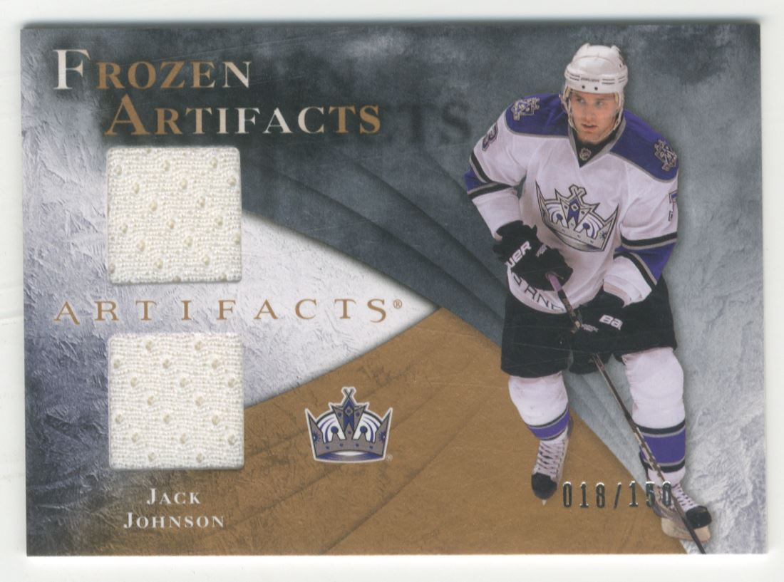 2010-11 Artifacts Frozen Artifacts #FAJJ Jack Johnson
