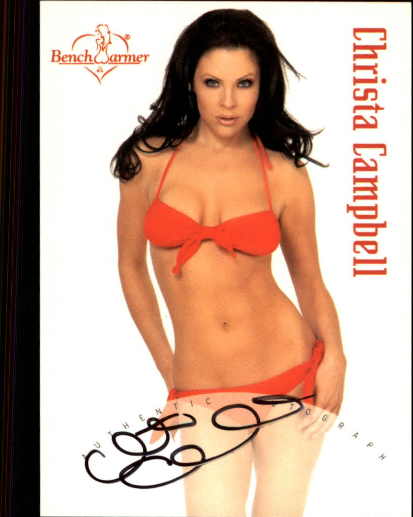 2003 Bench Warmer Series One Autographs #12 Christa Campbell