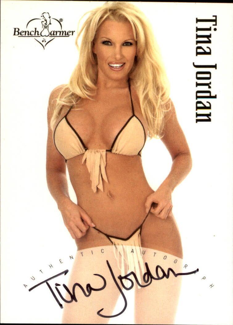 2003 Bench Warmer Series One Autographs #17 Tina Jordan