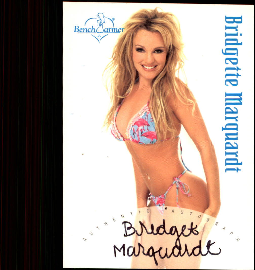 2003 Bench Warmer Series One Autographs #19 Bridgette Marquardt
