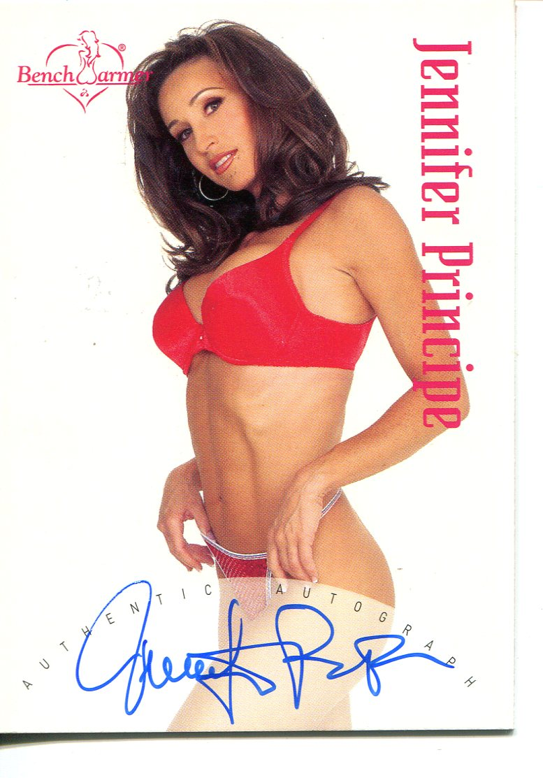 2002 Bench Warmer Autographs #24 Jennifer Principe U
