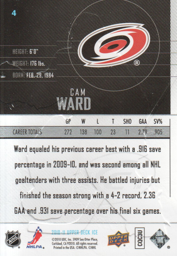 2010-11-Upper-Deck-Ice-Hockey-Cards-Pick-From-List thumbnail 9