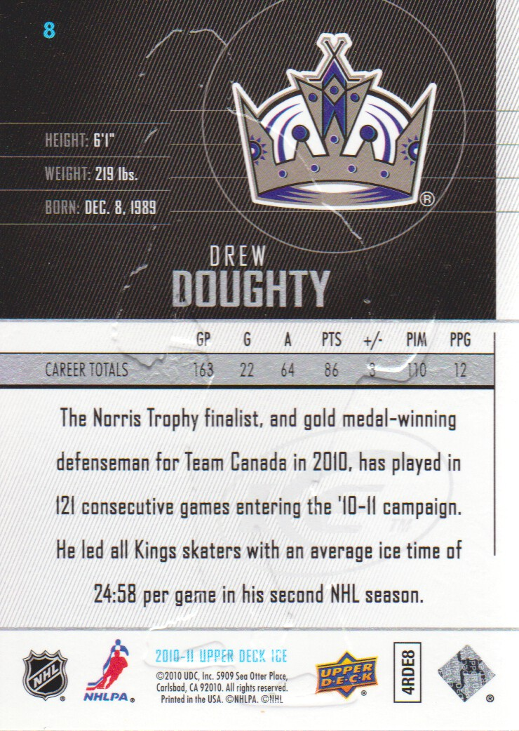 2010-11-Upper-Deck-Ice-Hockey-Cards-Pick-From-List thumbnail 17