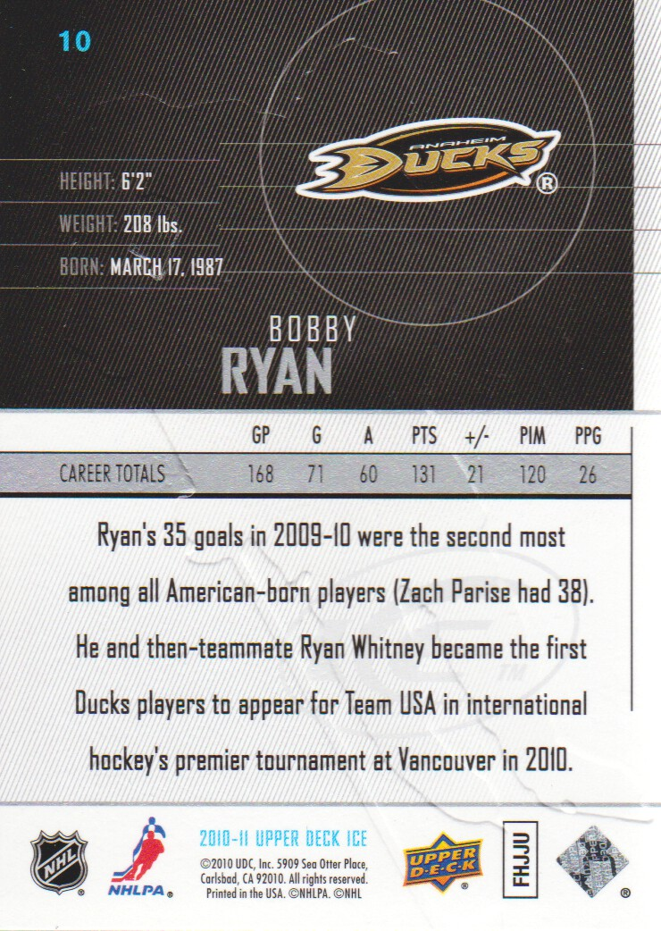 2010-11-Upper-Deck-Ice-Hockey-Cards-Pick-From-List thumbnail 21