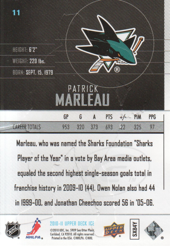 2010-11-Upper-Deck-Ice-Hockey-Cards-Pick-From-List thumbnail 23