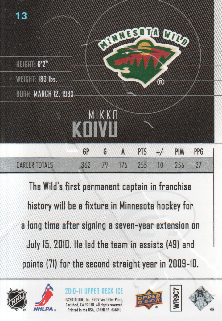 2010-11-Upper-Deck-Ice-Hockey-Cards-Pick-From-List thumbnail 27