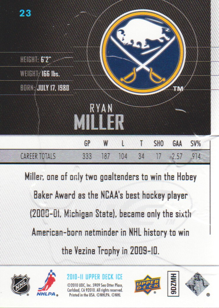 2010-11-Upper-Deck-Ice-Hockey-Cards-Pick-From-List thumbnail 47