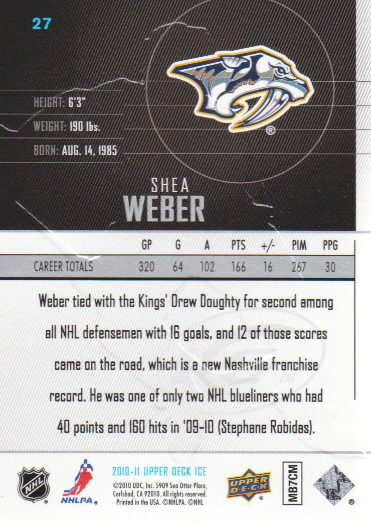 2010-11-Upper-Deck-Ice-Hockey-Cards-Pick-From-List thumbnail 55