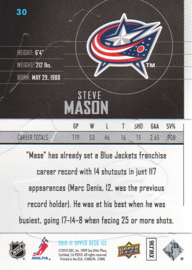 2010-11-Upper-Deck-Ice-Hockey-Cards-Pick-From-List thumbnail 61