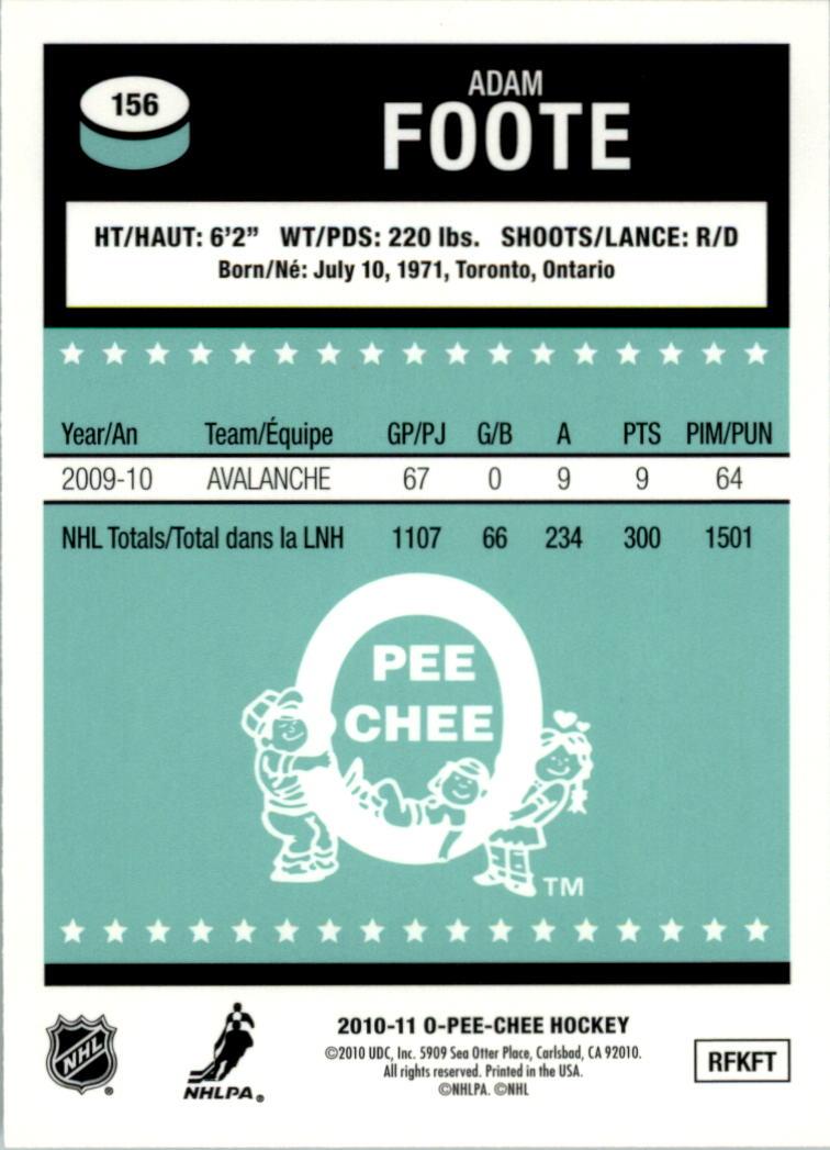 2010-11-O-Pee-Chee-Retro-Rainbow-Hockey-Card-Pick miniature 69