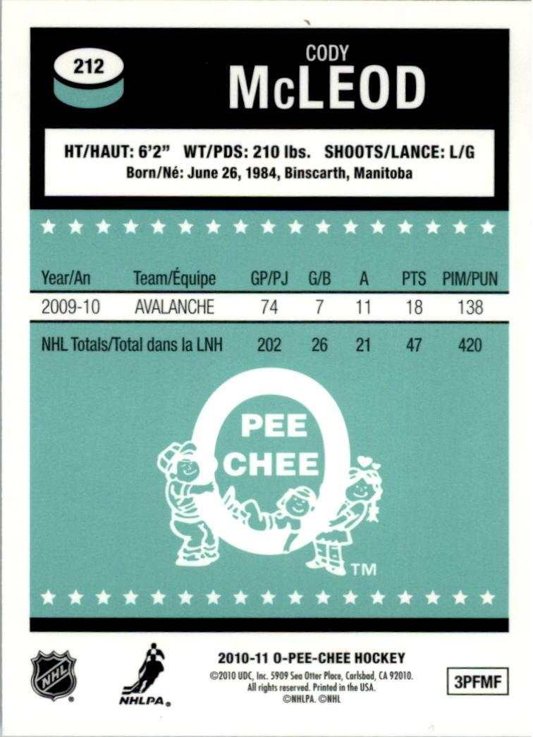2010-11-O-Pee-Chee-Retro-Rainbow-Hockey-Card-Pick miniature 89