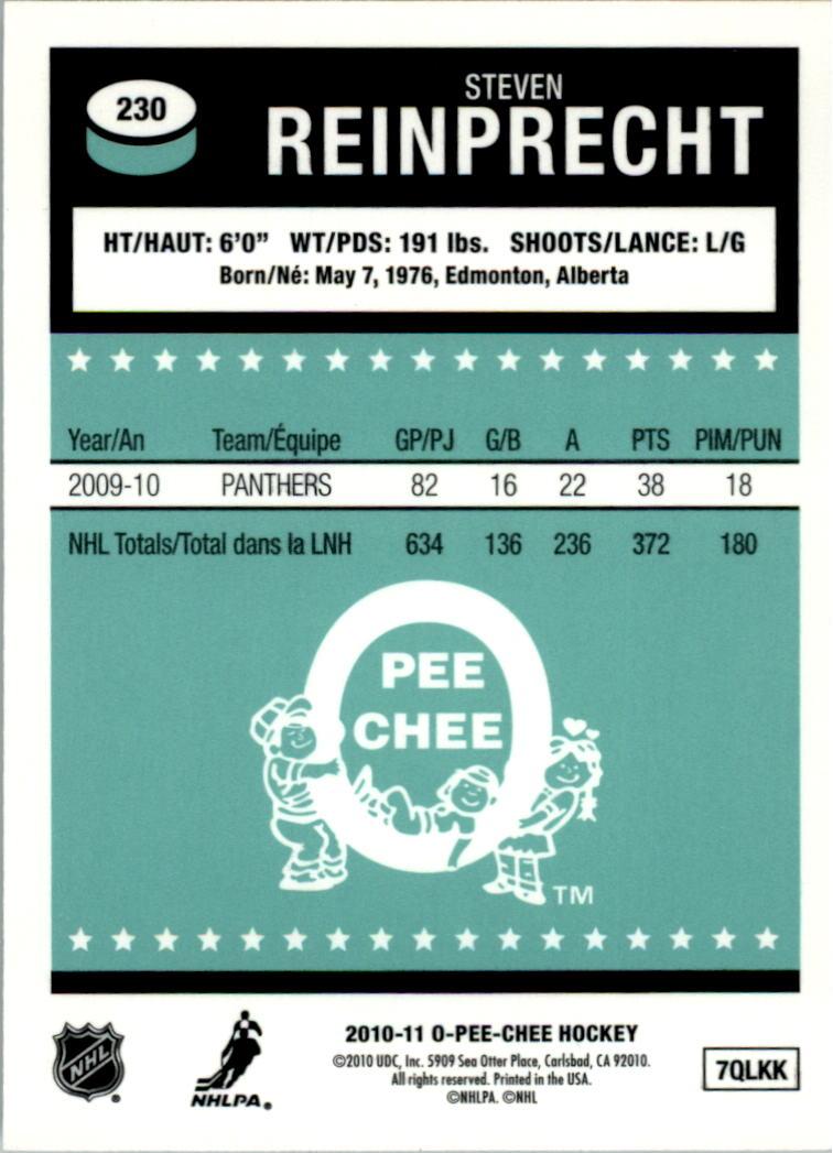 2010-11-O-Pee-Chee-Retro-Rainbow-Hockey-Card-Pick miniature 97