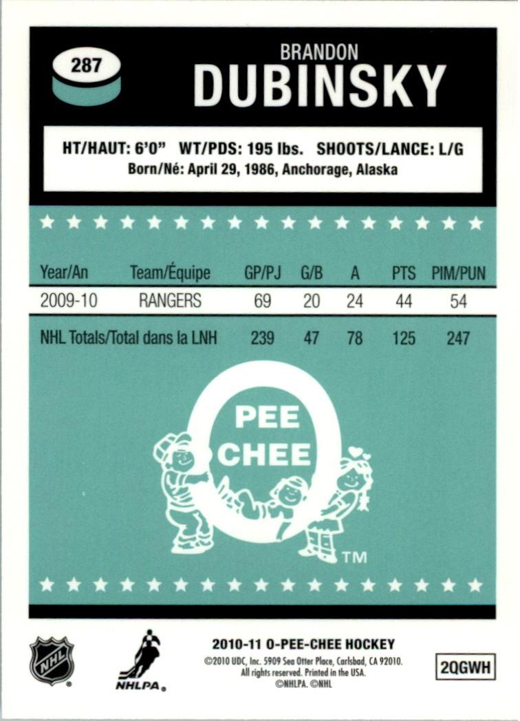 2010-11-O-Pee-Chee-Retro-Rainbow-Hockey-Card-Pick miniature 115
