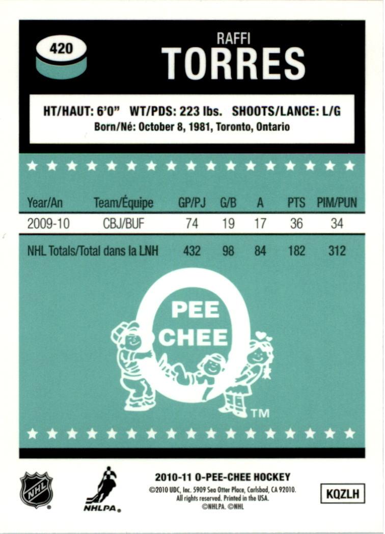 2010-11-O-Pee-Chee-Retro-Rainbow-Hockey-Card-Pick miniature 186