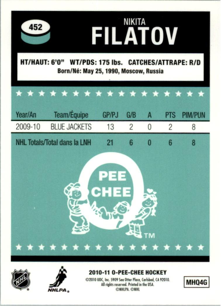 2010-11-O-Pee-Chee-Retro-Rainbow-Hockey-Card-Pick miniature 198