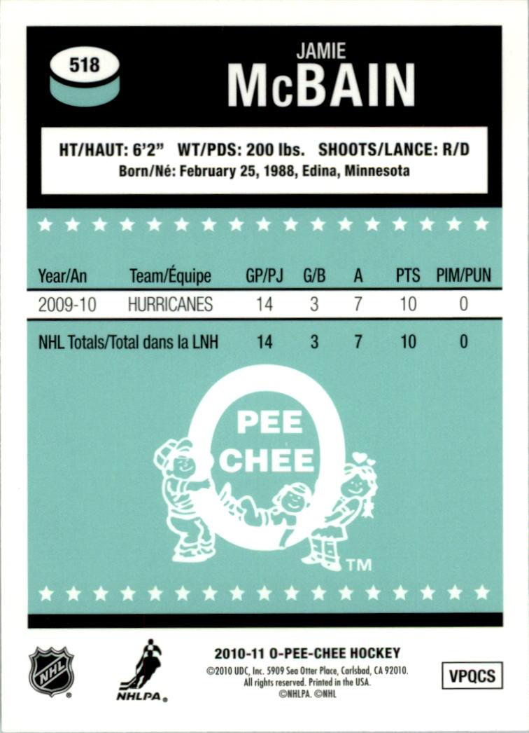 2010-11-O-Pee-Chee-Retro-Rainbow-Hockey-Card-Pick miniature 220