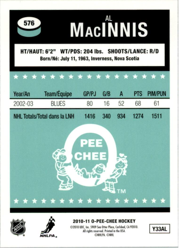 2010-11-O-Pee-Chee-Retro-Rainbow-Hockey-Card-Pick miniature 248