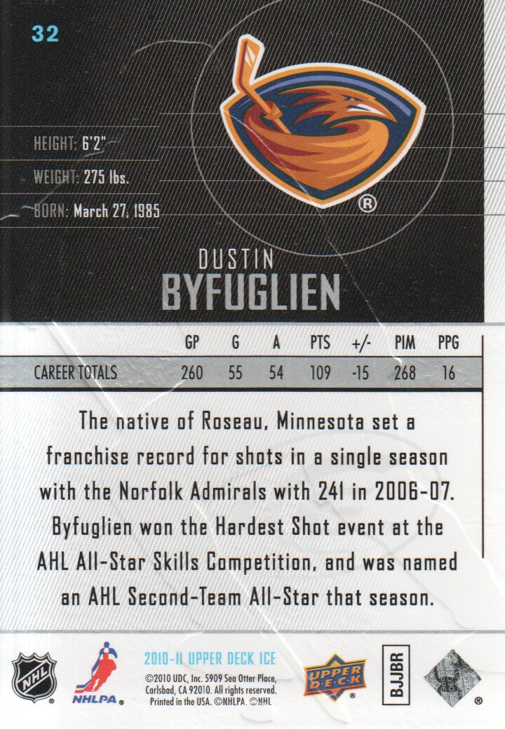 2010-11-Upper-Deck-Ice-Hockey-Cards-Pick-From-List thumbnail 65