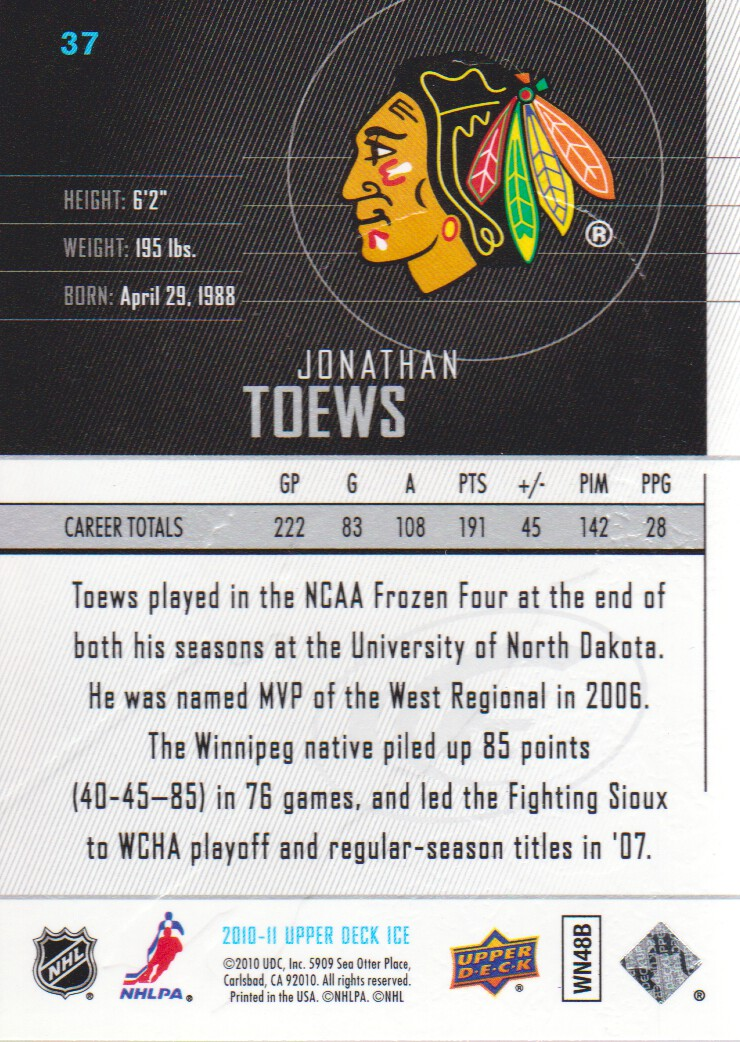2010-11-Upper-Deck-Ice-Hockey-Cards-Pick-From-List thumbnail 71