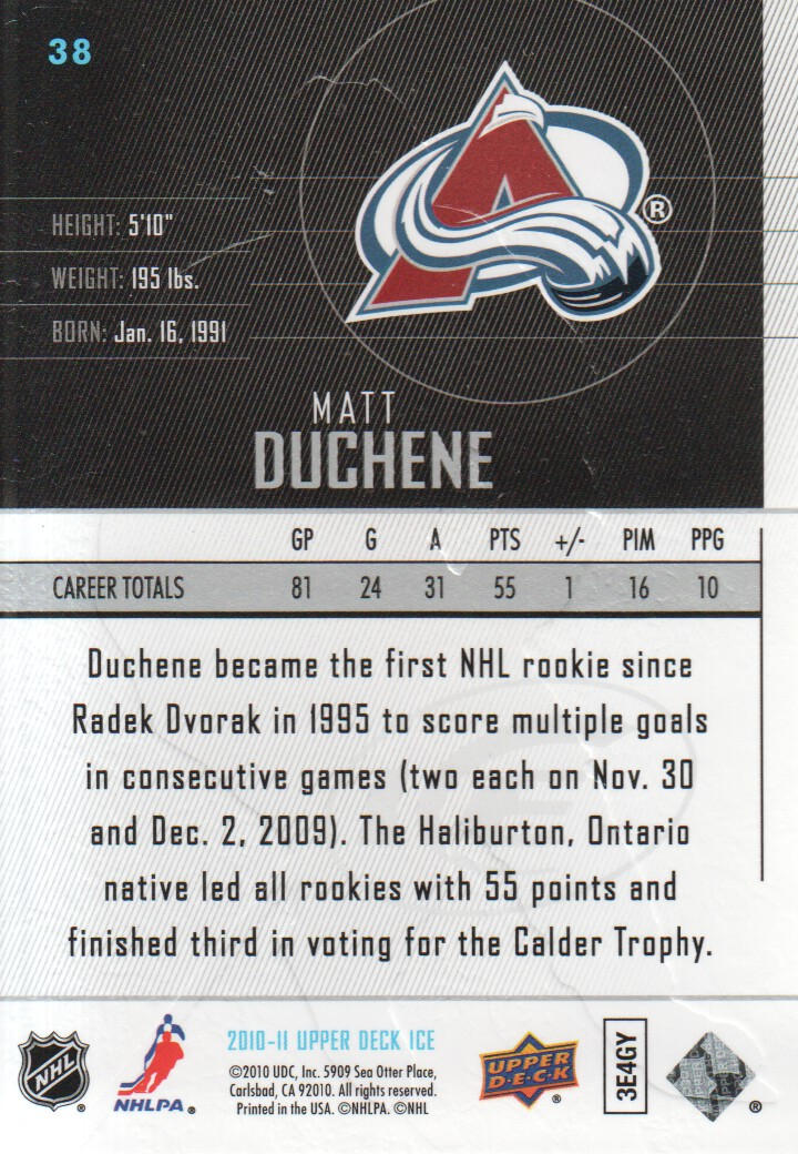 2010-11-Upper-Deck-Ice-Hockey-Cards-Pick-From-List thumbnail 73
