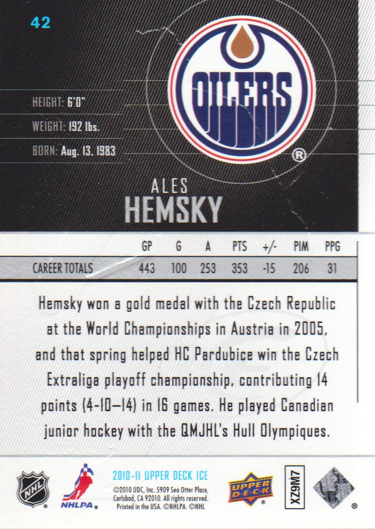 2010-11-Upper-Deck-Ice-Hockey-Cards-Pick-From-List thumbnail 77