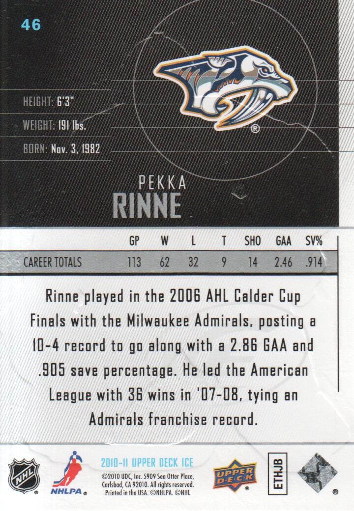 2010-11-Upper-Deck-Ice-Hockey-Cards-Pick-From-List thumbnail 83