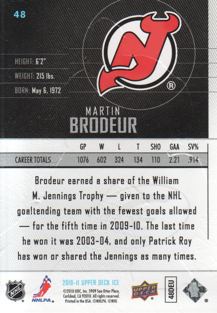 2010-11-Upper-Deck-Ice-Hockey-Cards-Pick-From-List thumbnail 87