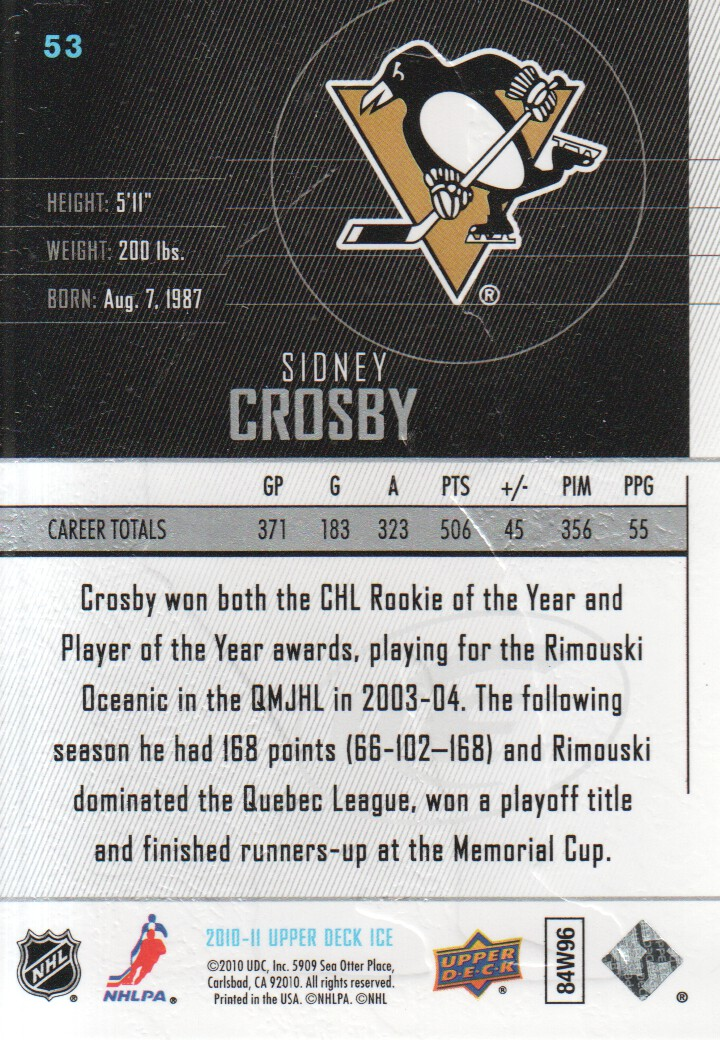 2010-11-Upper-Deck-Ice-Hockey-Cards-Pick-From-List thumbnail 97