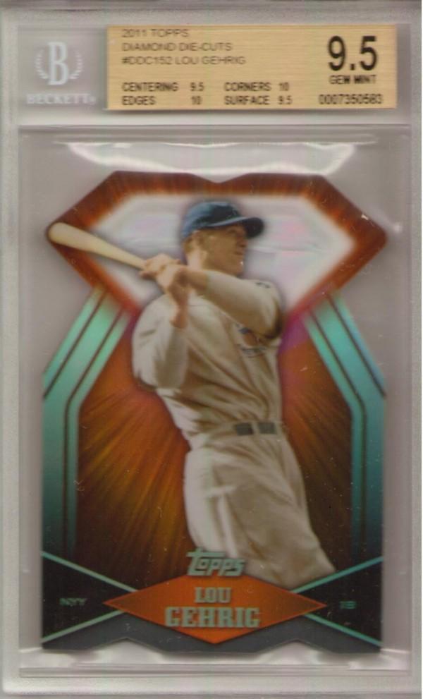 2011 Topps Diamond Die Cut #DDC152 Lou Gehrig