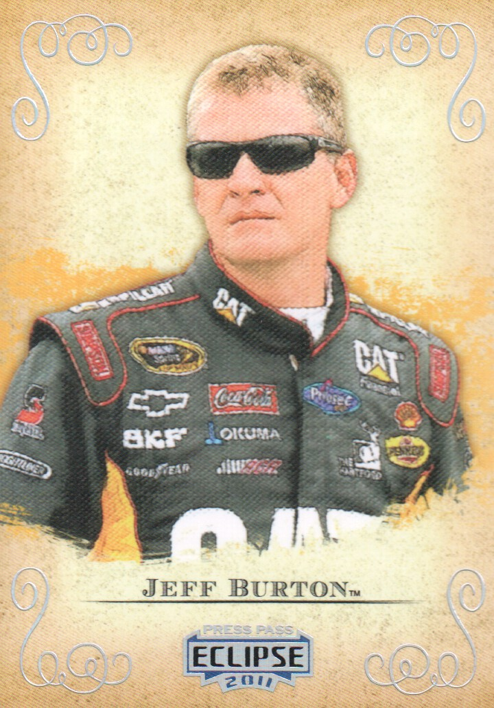 2011 Press Pass Eclipse #5 Jeff Burton