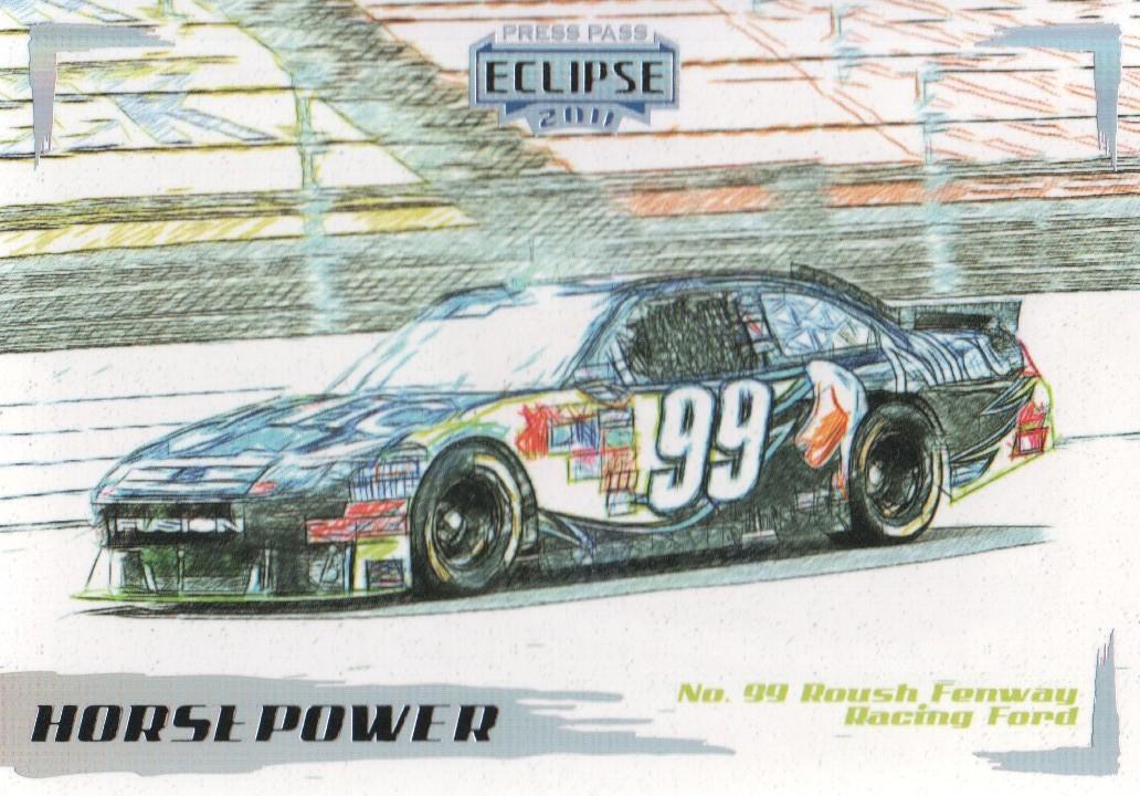 2011 Press Pass Eclipse #51 Carl Edwards' Car HP